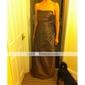 Linia -A Prințesă Coloană / Teacă Fără Bretele Lungime Podea Tafta Rochie Domnișoară Onoare cu Ruching de LAN TING BRIDE®