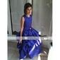 Rochie de mireasa ceai lungime rochie fata rochie - satin fara buzunar gat rochie de lan ting bride®
