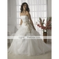 nailon o linie rochie complet 3 alunecare podea-lungime stil / nunta jupoane nivel