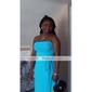 Coloană / Teacă Fără Bretele Lungime Podea Șifon Rochie Domnișoară Onoare cu Flori Eșarfă/Panglică de LAN TING BRIDE®