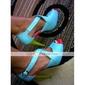imitație de piele superioare gladiator sandale stiletto pantofi toc mai multe culori