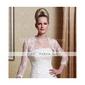 Linia -A Prințesă Dantelate Trenă Court Satin Rochie de mireasă cu Mărgele Aplică de LAN TING BRIDE®
