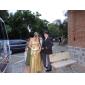 Trompetă / Sirenă Fără Bretele In Formă de Inimă Trenă Court Paiete Seară Formală Rochie cu Mărgele Paiete de TS Couture®