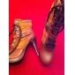 piele superioare cui toc cizme de glezna cu catarama partid / seara pantofi mai multe culori disponibile