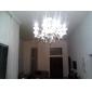Ljuskronor ,  Rustik/Stuga Elektropläterad Särdrag for Kristall Glas Vardagsrum Dining Room