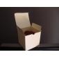 pătrat cutie favoarea fildeș cu