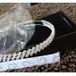 superba clar cristale nunta mireasa tiara / caciula