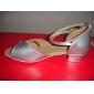 imitație de piele / spumant cu sclipici superioare de dans pantofi sală de bal pantofi latină pentru femei / copii mai multe culori