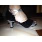 Salle de bal en satin pratique chaussures de danse supérieure chaussures de danse latine pour les femmes d'autres couleurs