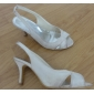 Dame - Pantofi de nunta - Pantof cu Berete - Sandale - Nuntă - Negru / Roz / Roșu / Fildeș / Alb / Argintiu / Auriu