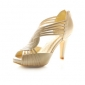 imitație de piele superioare stilet toc sandale gladiator pantofi de partid mai multe culori disponibile
