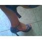 sală de bal cu toc peep toe din imitație de piele superioare de dans pantofi sală de bal pantofi latină pentru femei