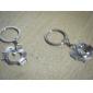 cheia lanțului cheie inel drăguț aliat pereche lanț forma de inima cadou la Valentines