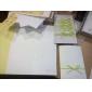 Împăturit în 3 Invitatii de nunta 50-Invitații Stil Flora Temă Basme Hârtie Reliefată 6 ½