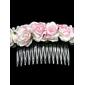 Cartea de flori de nunta mireasa caciula / păr PIN