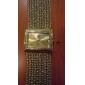 pentru Doamne Ceas La Modă Ceas Brățară Japoneză Quartz imitație de diamant Ștras Cupru Bandă Sclipici Elegant Luxos Auriu Argintiu Auriu