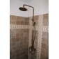 Sprinkle® par LightInTheBox - laiton antique baignoire robinet de douche avec pomme de douche 8 pouces + douche à main