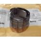 Bărbați Ceas de Mână Piloane de Menținut Carnea LED Calendar Plastic Bandă Negru