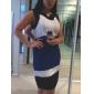 TS rochie curea tri-color