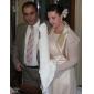 Șifon Satin Nuntă Petrecere / Seară Wraps de nunta Paltoane / Jachete