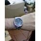 WEIDE Bărbați Ceas de Mână Quartz Quartz Japonez LED Calendar Cronograf Rezistent la Apă Zone Duale de Timp alarmă Oțel inoxidabil Bandă
