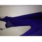 Teacă / coloană un umăr podea lungime watteau tren șifon rochie de seară cu beading de ts couture®