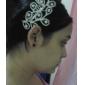 Femei Fata cu Flori Aliaj Diadema-Nuntă Ocazie specială Piepteni de Păr