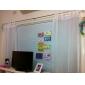 Stångficka Hyls-topp Hällor topp Dubbel veckad Två paneler Fönster Behandling Moderna , Tryck Enfärgad Sovrum Polyester Material Skira