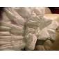 A-line printesa podea lungime floare fata rochie - dantelă fără buzunar gât bijuterie cu beading de lan ting bride®