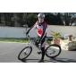 Mysenlan Cykeltröja och tights Herr Långärmad Cykel Byxa Tröja Cykling Tights Klädesset Vinter Fleece Cykelkläder Håller värmen Vindtät