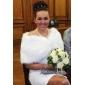 Nuntă Blană Artificială Bolerouri de Blană Șaluri Fără mâneci