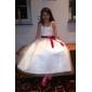 Rochie cu bile lungime floare fată rochie - tul fără mâneci spaghete curele dragă de lan ting bride®