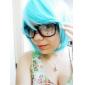 Peruci de Cosplay Vocaloid Hatsune Miku Albastru Extra Lung / Drept Anime/ Jocuri Video Peruci de Cosplay 120 CMFibră Rezistentă la