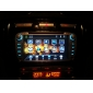 7-inch ecran TFT 2 din in-dash dvd player auto pentru Ford cu bluetooth, GPS navigare gata, ipod-intrare, rds, tv