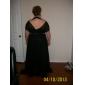 Teacă / coloană halter off-the-umăr matura / perie tren chiffon rochie de seara cu beading de ts couture®