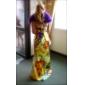 trompeta / Mermaid fara bretele podea-lungime charmeuse seară / bal rochie