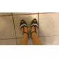 personnaliser les performances chaussures de danse latine en similicuir haut chaussures pour femmes