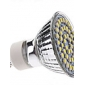 3W GU10 Spoturi LED MR16 48 LED-uri SMD 3528 Alb Natural 5500lm 5500KK AC 220-240V