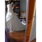 Nuntă Party / Seara Cămăși de noapte Nailon Tulle Lungime până la podea Trenă de Capelă Clasic & Fără Vârstă cu