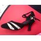 femei moderne Particularizarea lui stilet toc paillette cu pantofi de dans glitte spumant