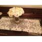 clasice poliester alb alergatori de masă florale