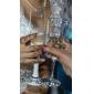 Sticlă fără Plumb Prăjire Flutes Cutie de Cadouri