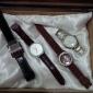 Pentru femei Ceas La Modă Ceas de Mână Ceas Elegant  Quartz Placat Cu Aur Roz Silicon Bandă Albastru Roșu