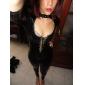 Animal Costume Cosplay Feminin Halloween Carnaval Festival/Sărbătoare Costume de Halloween Negru 纯色