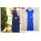 Linia -A Pătrat Lungime Podea Șifon Seară Formală Bal Militar Rochie cu Aplică Drapat Cruce de TS Couture®