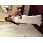 Coloană / Teacă Bijuterie Mătura / Trenă Șifon Dantelă Seară Formală Rochie cu Dantelă Eșarfă/Panglică de TS Couture®