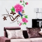 Red Flower Wall Sticker