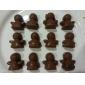 Silicon Îngerul ciocolata Pres forme Bakeware