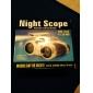 4X30 mm Jumelles LED Vision nocturne Jouet Enfant Mise au point Centrale