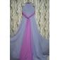 Teacă / coloană bijuterie gât spaghete curele etaj lungime șifon rochie de bal cu pliuri de ts couture®